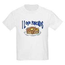 I Love Pancakes Kids T-Shirt
