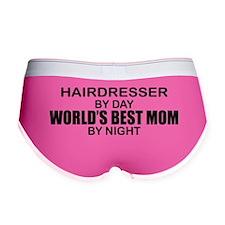 World's Best Mom - HAIRDRESSER Women's Boy Brief