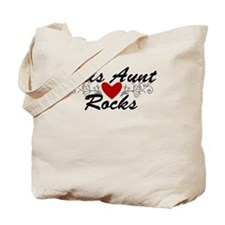 This Aunt Rocks Tote Bag