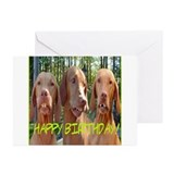 dogs with buck teeth Greeting Cards (Pk of 20)