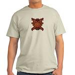Purple Skull Light T-Shirt