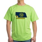 ILY Nebraska Green T-Shirt