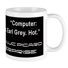 Captail Jean-Luc Picard Small Mug