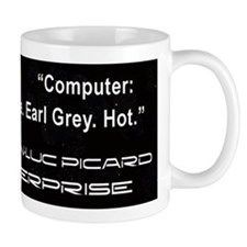 Captail Jean-Luc Picard Coffee Mug
