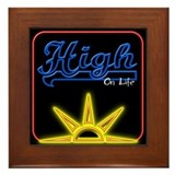 High on Life Framed Tile