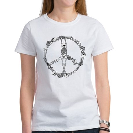 Peace Skeletons Women's T-Shirt