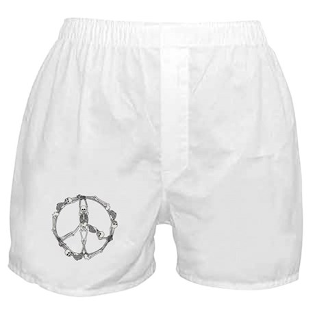 Peace Skeletons Boxer Shorts