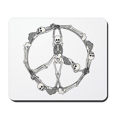 Peace Skeletons Mousepad