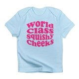 Pink Squishy Cheeks Infant T-Shirt