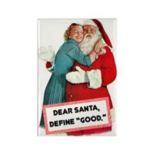 Dear Santa Fridge Magnet