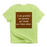 Grateful Drunk Parents Infant T-Shirt