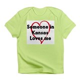 Loves me: Kansas Infant T-Shirt