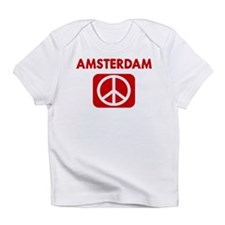 AMSTERDAM for peace Infant T-Shirt