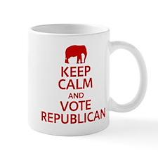 Keep Calm Republican Small Mug