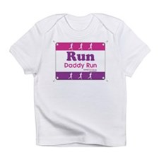Race Bib Run Daddy Infant T-Shirt