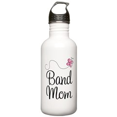 Cute Band Mom Water Bottle
