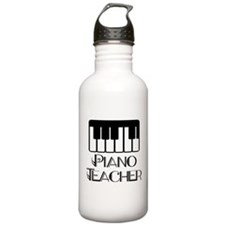 Piano Music Teacher Stainless Water Bottle 1.0L