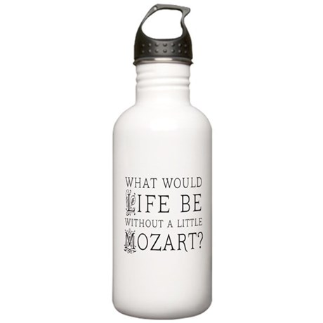 Life Without Mozart Stainless Water Bottle 1.0L