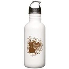 Music Speaks Cello Water Bottle
