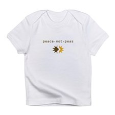Peace not Peas Infant T-Shirt