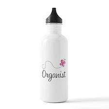 Cute Organist Sports Water Bottle