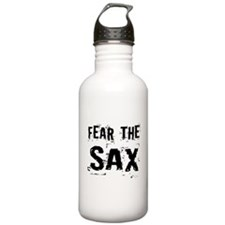 Fear The Saxophones Water Bottle