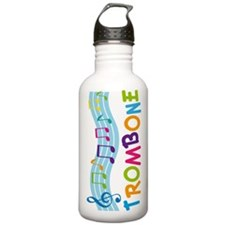 Musical Trombone Water Bottle