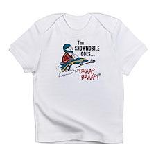The Snowmobile Goes Braap, Braap Infant T-Shirt