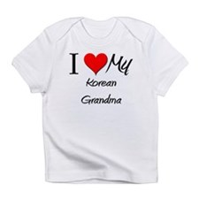I Heart My Korean Grandma Infant T-Shirt