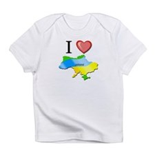 I Love Ukraine Infant T-Shirt