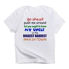 Baddest Uncle Infant T-Shirt