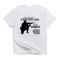 Cute Military grandpa Infant T-Shirt