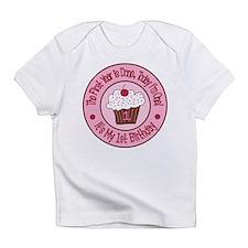 First Birthday Cupcake Onesie Infant T-Shirt
