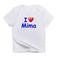 I Love Mima (Blue) Infant T-Shirt