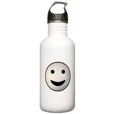 Volleyball Smiley Face Water Bottle