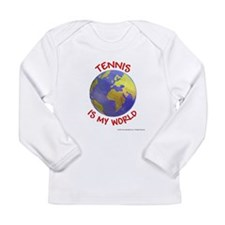 Tennis is my World Long Sleeve Infant T-Shirt