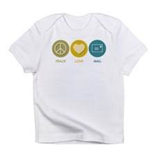 Peace Love Mail Infant T-Shirt