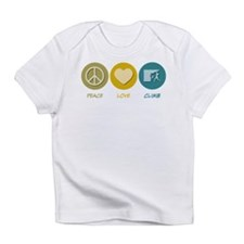 Peace Love Climb Infant T-Shirt