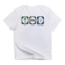 Eat Sleep Hairstyling Infant T-Shirt