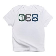 Eat Sleep Farm Infant T-Shirt