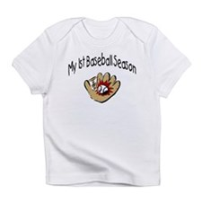 My First Baseball Season Infant T-Shirt