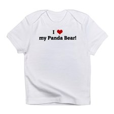 I Love my Panda Bear! Infant T-Shirt