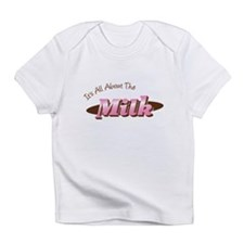 Funny Milk kids Infant T-Shirt