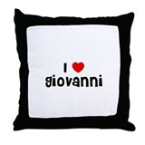 I * Giovanni Throw Pillow