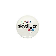 Future Skydiver Mini Button (100 pack)