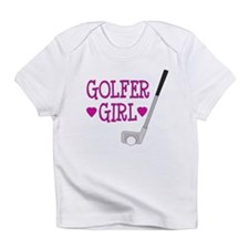 Golfer Girl Infant T-Shirt
