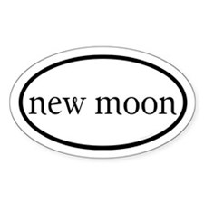 New Moon Euro Decal