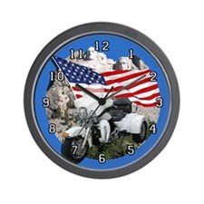 Rushmore Trike Wall Clock