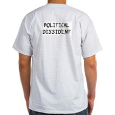 Political Dissident Ash Grey T-Shirt