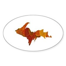 Autumn Leaves U.P. Decal